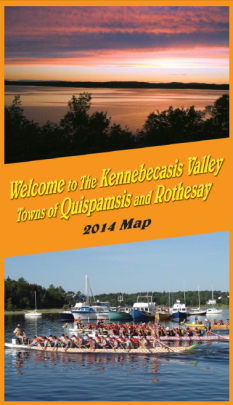 Kennebecasis Valley Map