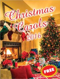 Christmas Carol Song Book
